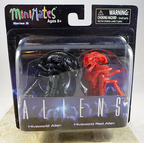 Hiveworld Alien & Hiveworld Red Alien (Aliens TRU Series 3)