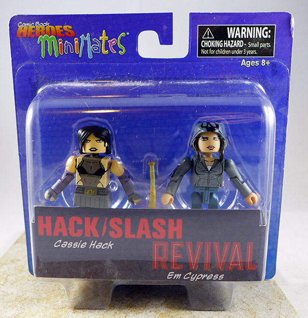Cassie Hack & Em Cypress (Comic Book Heroes TRU Wave 1)