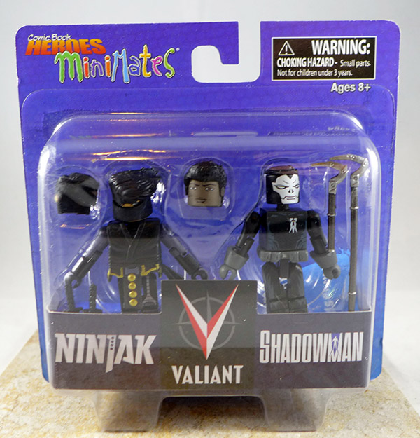 Ninjak & Shadowman (Comic Book Heroes TRU Wave 1)
