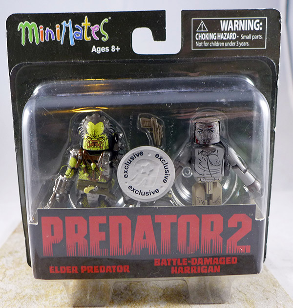 Elder Predator & Battle-Damaged Harrigan (Predator TRU Series 2)