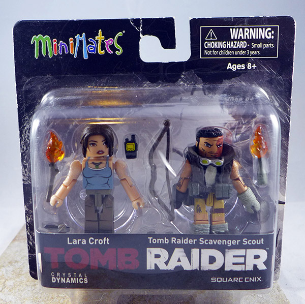 Lara Croft & Tomb Raider Scavenger Scout (Tomb Raider TRU Wave)