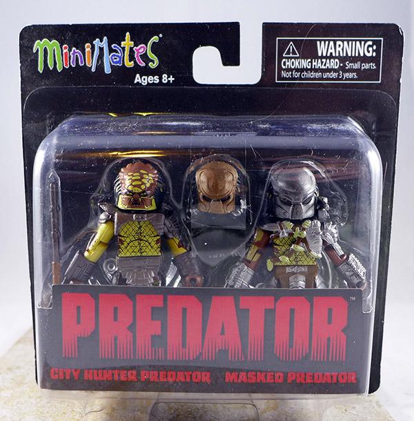 City Hunter Predator & Masked Predator (Predator TRU Series 1)