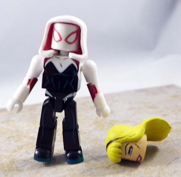 Spider-Gwen Partial Loose Minimate (TRU Wave 21)
