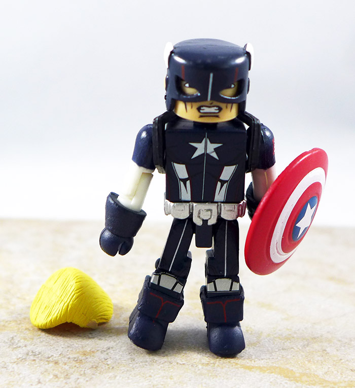 Secret War Captain America Loose Minimate (TRU Wave 12)