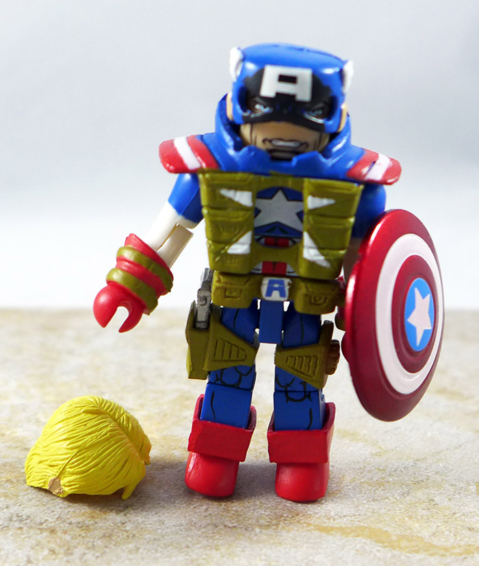 Fighting Chance Captain America Loose Minimate (Wave 54)