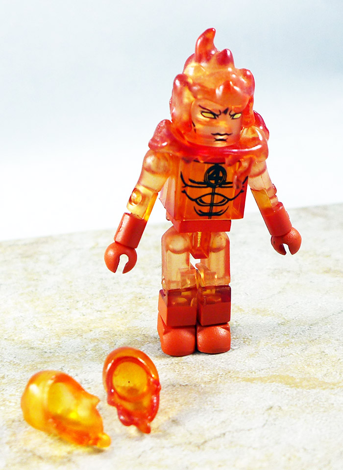 Human Torch Partial Loose Minimate (TRU Wave 8)