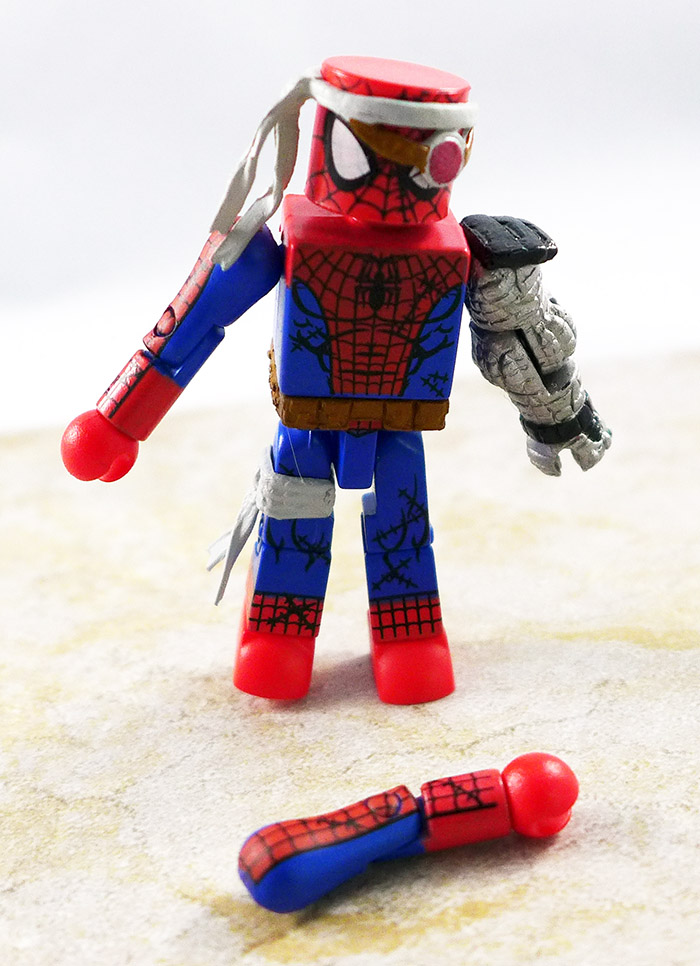Cyborg Spider-Man Loose Minimate (Wave 50)