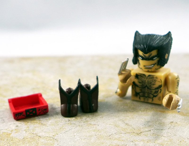 Battle Ravaged Wolverine Partial Loose Minimate (Uncanny X-Men Box Set)