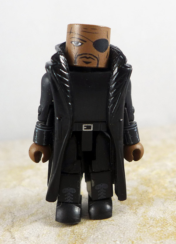 Nick Fury Loose Minimate (Iron Man 2: Battle Tactics Box Set)