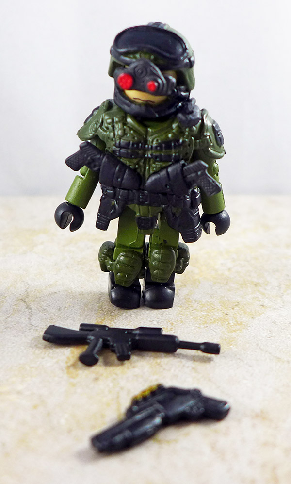 Special Ops 1 Partial Loose Minimate (Elite Heroes Wave 1)