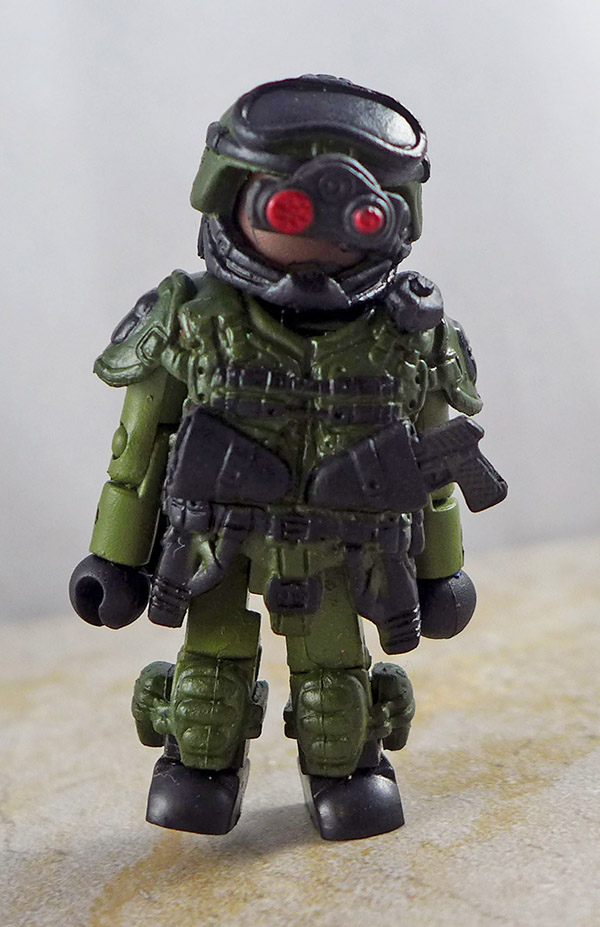 Special Ops 3 Partial Loose Minimate (Elite Heroes Box Set)