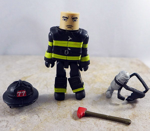 Fire Fighter 1 Loose Minimate (Elite Heroes Fire Fighters)