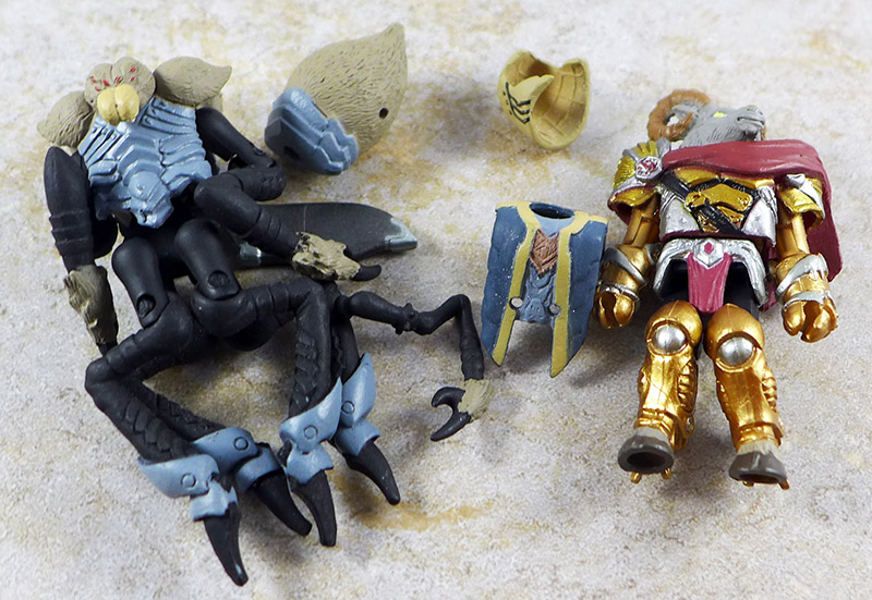 Fenruk, Vorin and Merk Partial Loose Minimate (Battle Beasts Series 1)