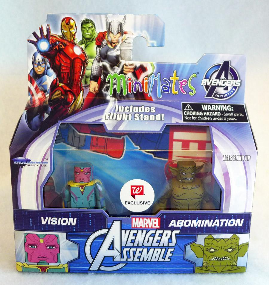 Vision & Abomination Walgreens Minimates