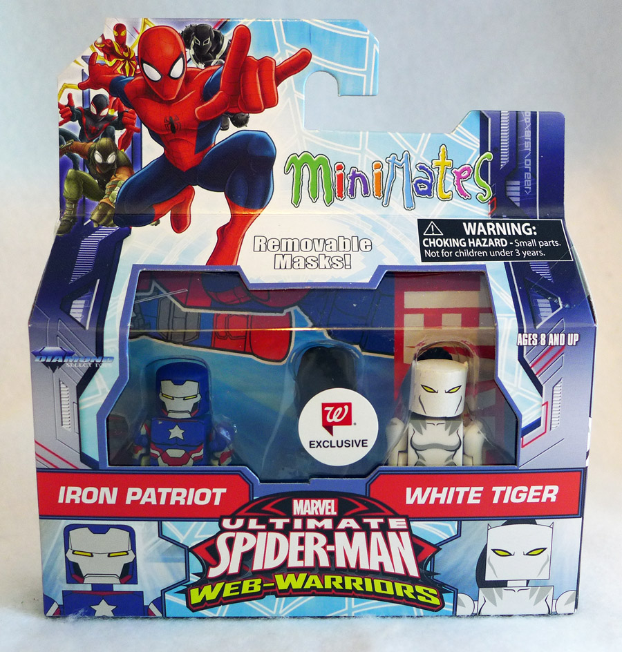 Iron Patriot & White Tiger Walgreens Minimates