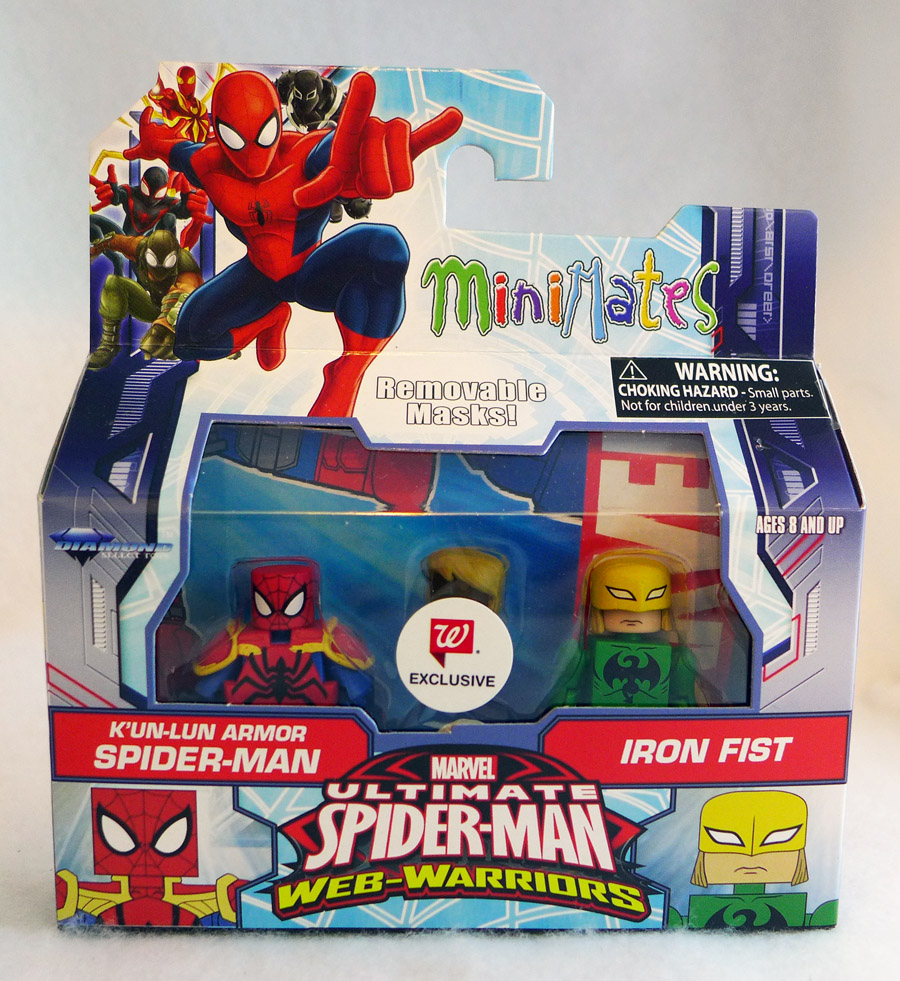 K'un-Lun Armor Spider-Man & Iron Fist Walgreens Minimates