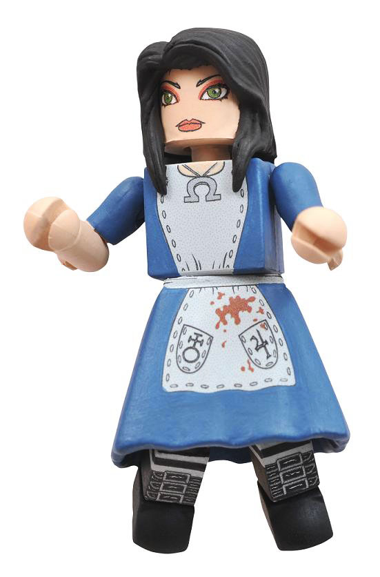 Alice The Madness Returns Minimate Single Pack 2011 SDCC Exclusive