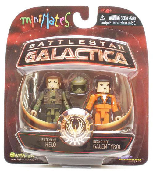 Helo & Orange Suit Galen Tyrol BSG Minimates