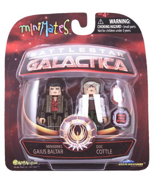 Cottle & Baltar VariantBSG Minimates