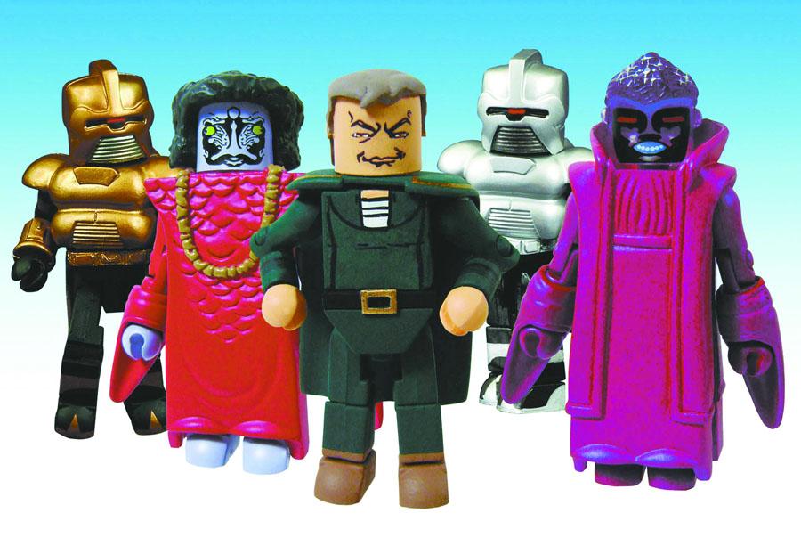 BSG Classic Minimates Cylon Empire Box Set of 5