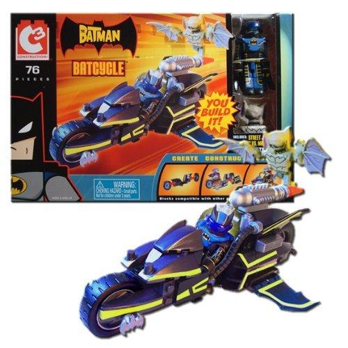 C3 Batcycle with Batman & Man-Bat DC Minimates