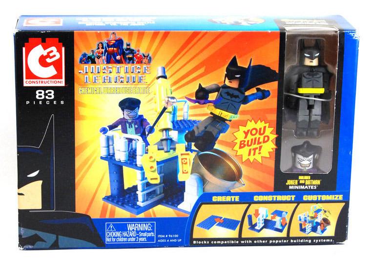 C3 Chemical Warehouse Battle with Batman & Joker DC Minimates