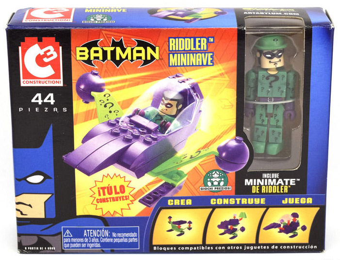 C3 The Riddler Mini Flyer with Minimate