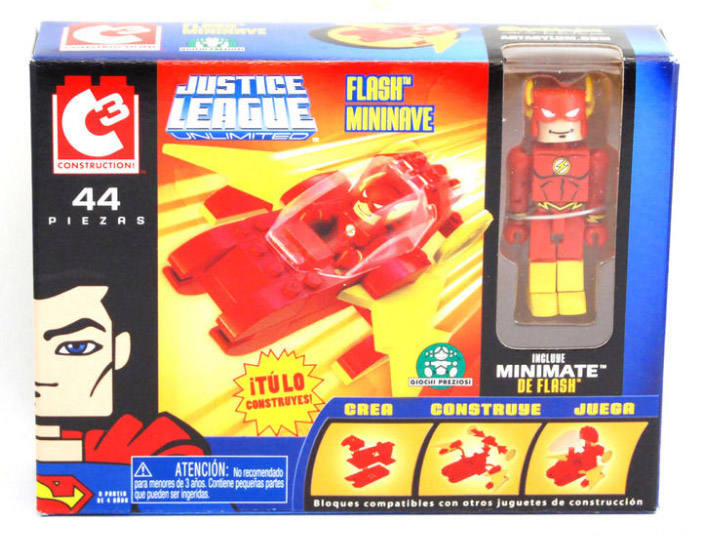 C3 The Flash Mini Flyer with Minimate