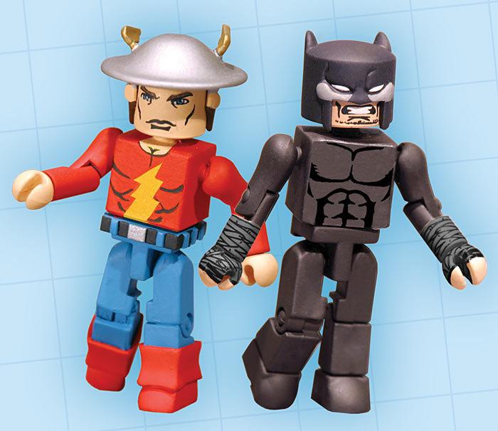 Golden Age Flash & Wildcat DC Minimates