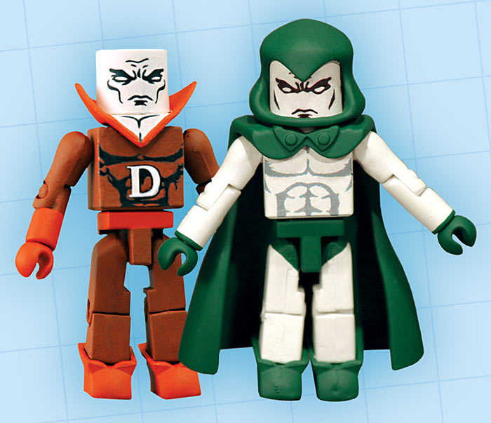 Spectre & Deadman DC Minimates