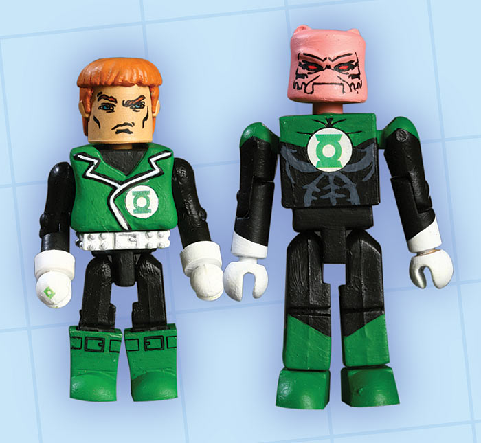 Guy Gardner & Kilowog DC Minimates
