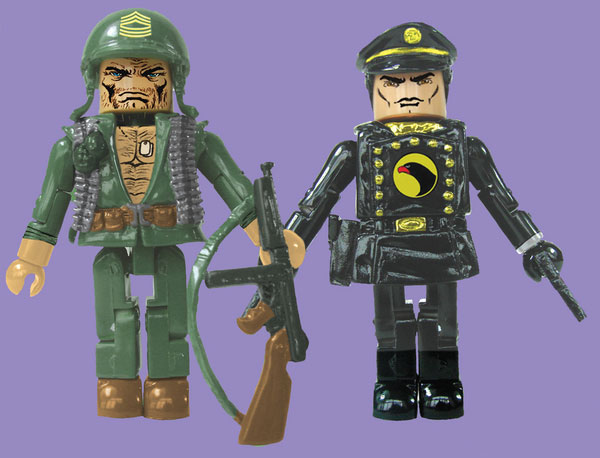 Sergeant Rock & Blackhawk DC Minimates