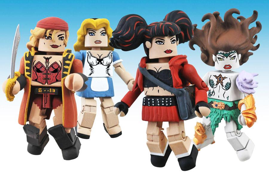 Femme Fatales Minimates Series 2 Box Set