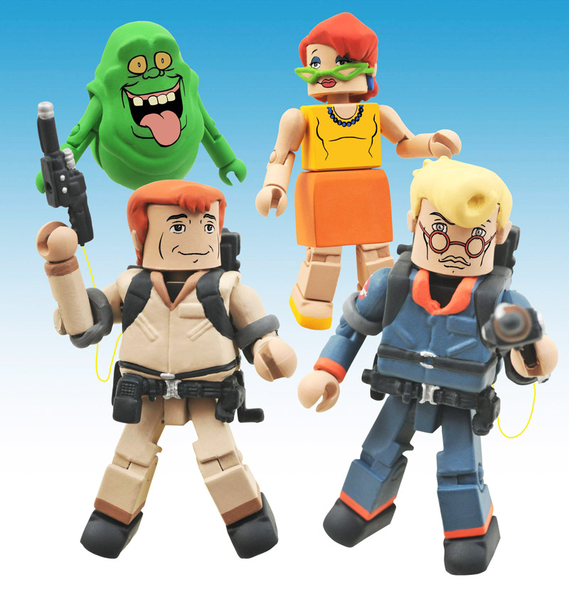 The Real Ghostbusters Minimates Series 1 Box Set