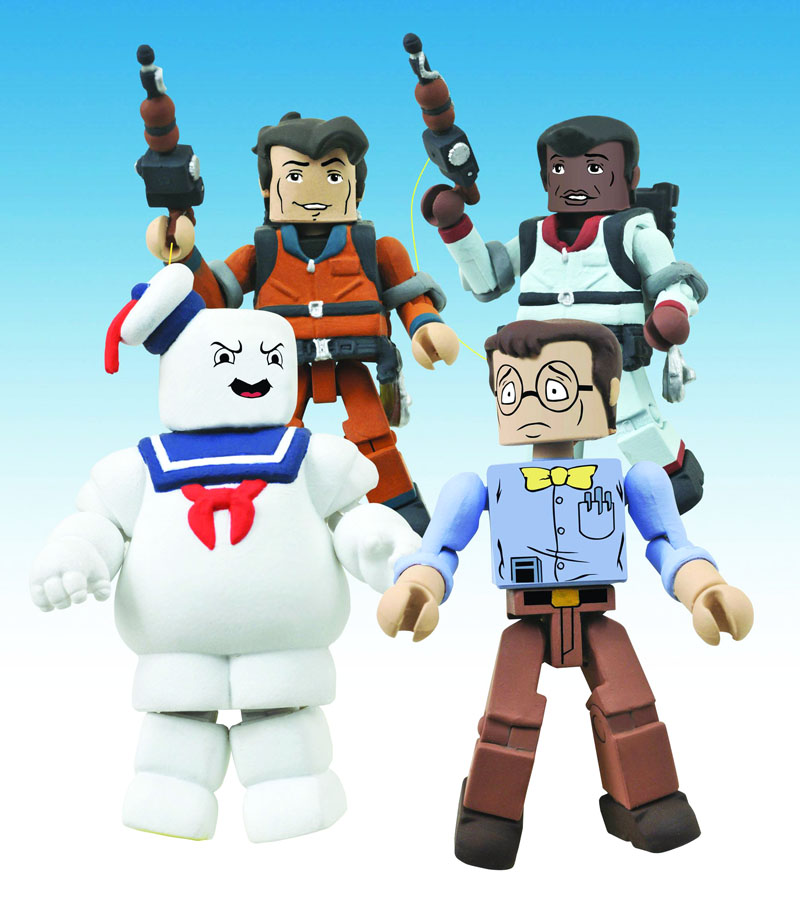 The Real Ghostbusters Minimates Series 2 Box Set
