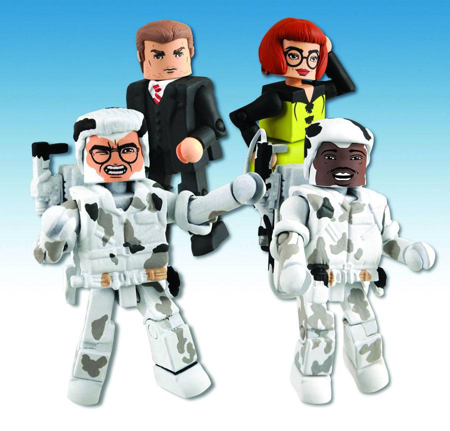Ghostbusters Minimates Series 3 Box Set