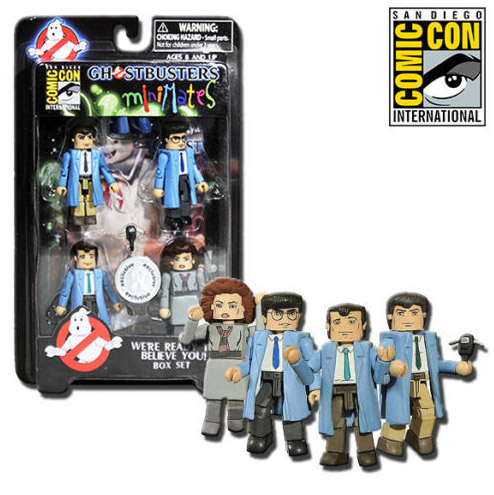 Ghostbusters Minimates Ready to Believe You Box Set-2010 SDCC Exclusive