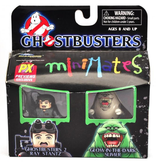 Ghostbusters Minimates Ray & Slimer Previews Exclusive