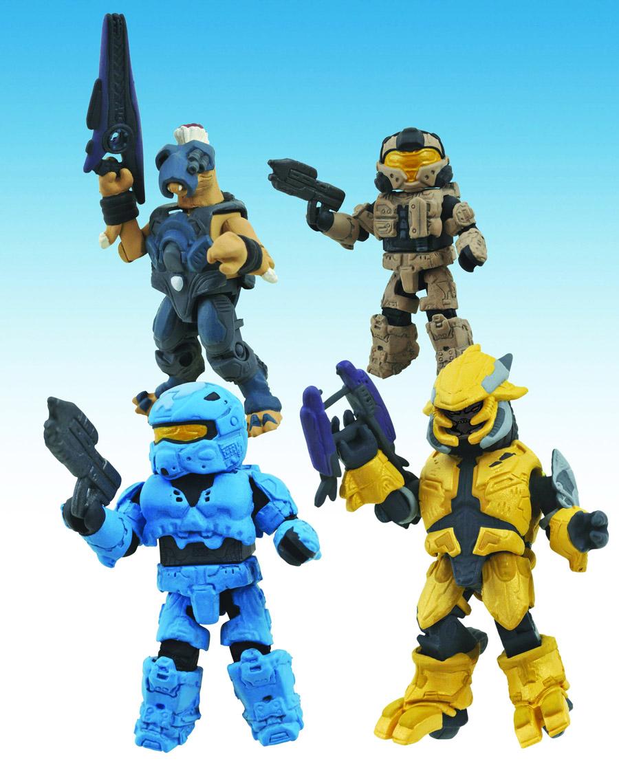 Halo Minimates Series 3 Box Set