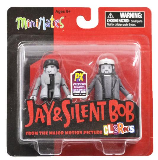 Jay & Silent Bob B&W Clerks Minimates SDCC 2013 Exclusive