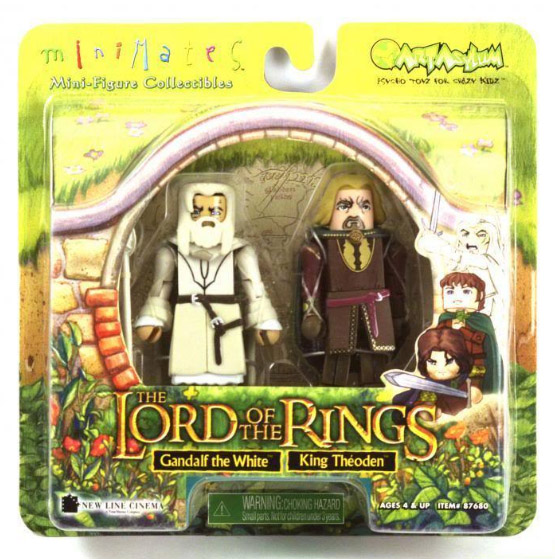 Gandalf the White & King Theoden Lord of the Rings Minimates