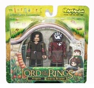 Aragorn & Uruk-hai Berzerker Lord of the Rings Minimates
