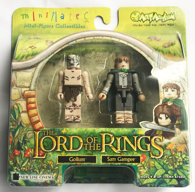 Gollum & Sam Gamgee Lord of the Rings Minimates