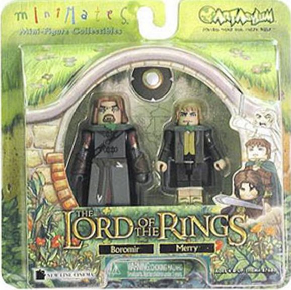 Boromir & Merry Lord of the Rings Minimates