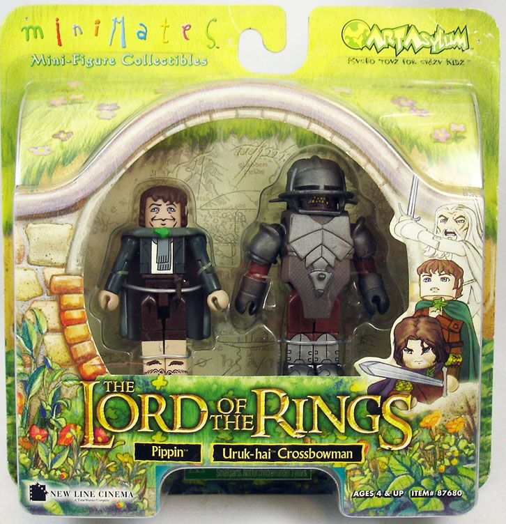Pippin & Uruk-hai Crossbowman Lord of the Rings Minimates