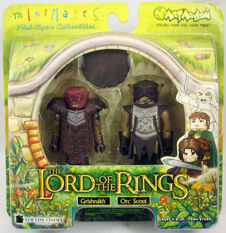 Grishnakh & Orc Scout Lord of the Rings Minimates