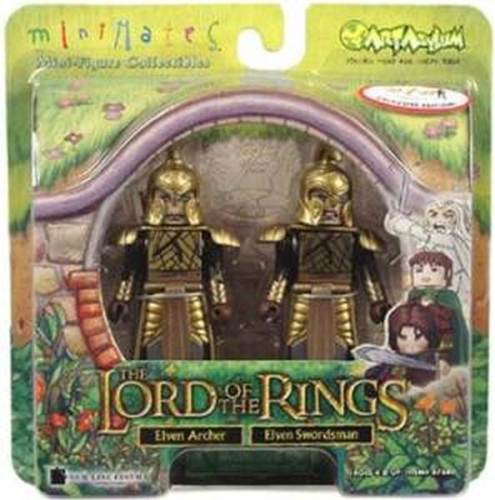Prologue Elven Warriors Lord of the Rings Minimates 2004 AFX Exclusive