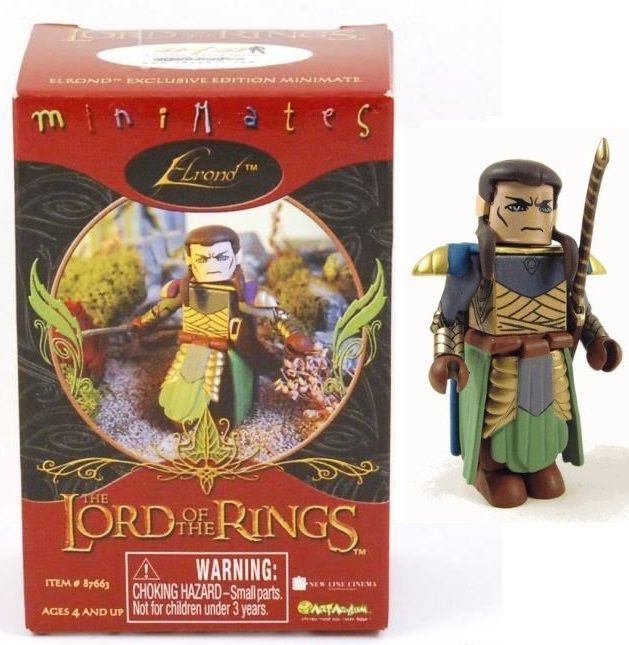 Elrond Single Pack Lord of the Rings Minimates 2005 SDCC Exclusive