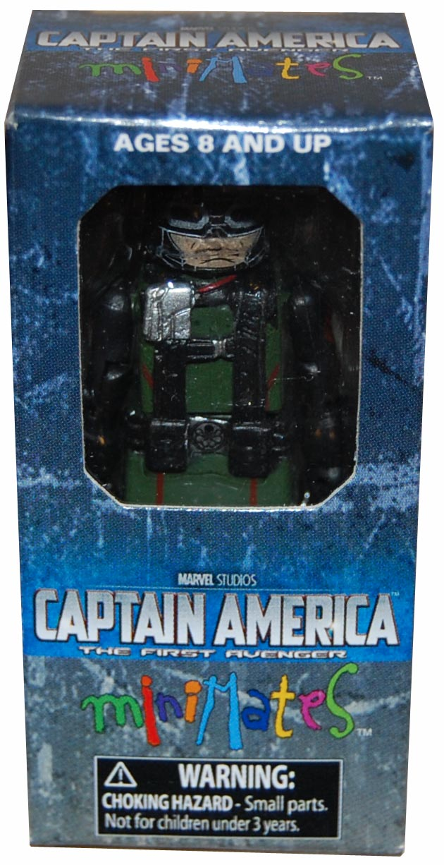 Captain America Army Builder Hydra Infantry Single Pack Minimate