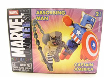 Captain America & The Absorbing Man Marvel Minimates Series 5